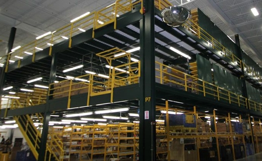 multi-level industrial mezzanine