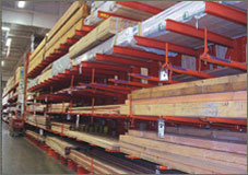 Cantilever Racks side view