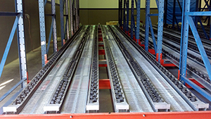 Industry's strongest, most reliable pallet flow